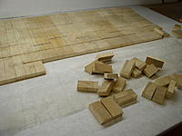 Name: P1010003.jpg Views: 346 Size: 212.7 KB Description: A sheet of balsa core material. Comes cut in squares and bonded to a fabric mesh. Just pop off what you need.