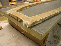 Name: P1010006.jpg Views: 364 Size: 200.1 KB Description: Capping the core with 8 layers of 6 oz glass tape.