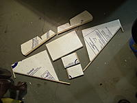 Name: TailPiecesReady.jpg Views: 700 Size: 167.7 KB Description: Tail pieces ready for assembly.