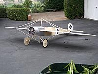 Name: EindeckerGrnd.jpg Views: 330 Size: 127.1 KB Description: Ready to fly, 11 ft wingspan, 11 lbs, 8 ft long