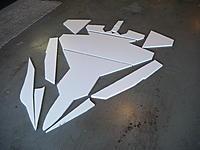 Name: 5Foam Parts.jpg Views: 1226 Size: 170.5 KB Description: Cut faom parts.