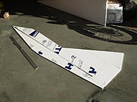Name: RIMG0004.jpg Views: 240 Size: 178.8 KB Description: Fuse and tail parts. Note 4 ft scale.