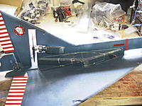 Name: RIMG0006.jpg Views: 64 Size: 249.7 KB Description: Chopping on electronics enclosure to replace bad rudder servo and bind to new transmitter.