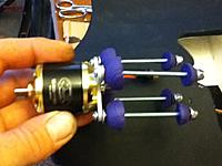 Name: IMG_0728.jpg Views: 315 Size: 235.7 KB Description: Motor Mt. made with soft rubber meant for safety tips on knitting needles.