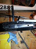 Name: 13612357_10209977034767305_7141268584764545954_n.jpg Views: 55 Size: 80.2 KB Description: A drill bit was used to reinforce the carbon tube. Good idea but added weight.