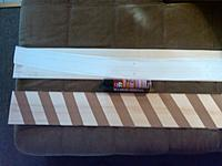 """Name: IMG00093-20111108-1502.jpg Views: 105 Size: 155.4 KB Description: using a cellophane tape spaced about 2.5"""" apart then 3M spray adhesive lightly to hold 2 sheets together and lightly bond the template to the top"""