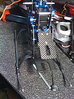 Name: photo (7).jpg Views: 42 Size: 168.3 KB Description: Front view of the skid tubes. 5mm OD and 3mm ID.
