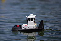 """Name: DON F - TUG FEST 2014.jpg Views: 22 Size: 234.1 KB Description: VERY """"Sea Worthy"""", for only 12'' long."""