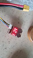 Two times slow flight 10mins. battery voltage drop to 12.1V.