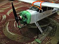 Name: Cessna Latest.jpg Views: 107 Size: 288.1 KB Description: LanYu 747-I Cessna with skis and pop bottle cowel