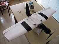 Name: BoneYard Plank.jpg Views: 141 Size: 185.2 KB Description: rc laminated epp foam plank with 2700kv motor and 1800mah lipo