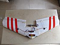 Name: BoneYard 5 EPP Wing.jpg Views: 100 Size: 1.13 MB Description: BoneYard 5 EPP finless wing, 695 grams, 400 sq in, 1800kv, 1800mah lipo, 7*5 prop, 40amp esc