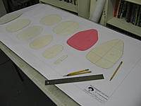 Name: IMG_1658.JPG Views: 121 Size: 333.6 KB Description: Fuse minus the cowl traced and cut out Ran out of white and used pink  :-)