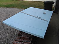 """Name: IMG_0815.jpg Views: 480 Size: 200.4 KB Description: Cutting 4x8 sheet of 2"""" blue foam for the fuse blank"""