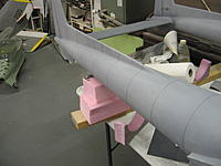 Name: IMG_1402.jpg Views: 142 Size: 124.4 KB Description: Panel line tape on boom and vertical fin