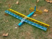 """Very basic and light. Great for some quiet brushless practice flights at smaller fields, where space is limited. Very """"plain Jane"""" looks, but should serve the purpose very well."""