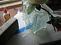 Name: IMG_0055.jpg Views: 79 Size: 195.6 KB Description: Everyone uses canned goods as weights, I appropriated a glass vase.