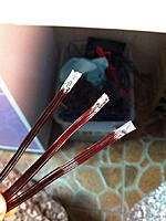 Name: IMG_0088.jpg Views: 152 Size: 200.7 KB Description: 3 bundle of wires. 6 strands 0.64mm, soldered at the head.