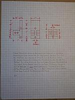 Name: Lob. boat #2 027.jpg Views: 119 Size: 282.0 KB Description: Sketch of planking clamp with dimensions and instructions.