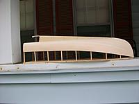 Name: Lob. boat #2 016.jpg Views: 104 Size: 232.7 KB Description: Side view of planked hull.