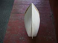 Name: Lob. boat #2 020.jpg Views: 93 Size: 290.8 KB Description: Bottom view of planked hull.