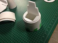 Name: 092.jpg Views: 26 Size: 84.0 KB Description: I cant stress enough the  importance of marking the center of the formers and the skins to make sure you don't get ant twists in the fuselage or nose section