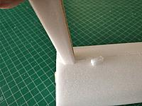 Name: IMG_20171117_133534.jpg Views: 26 Size: 77.6 KB Description: Had to cut hole slightly longer for brace to fit through, glue in a small patch