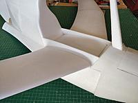 Name: IMG_20171120_114054.jpg Views: 9 Size: 71.8 KB Description: Wing skirts glued in place