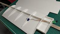 Name: IMG_20181129_105641.jpg Views: 33 Size: 61.4 KB Description: Decided to move the servo rather than have the pushrod right at the end of the aileron