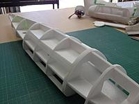 Name: ME1 008.jpg Views: 171 Size: 68.7 KB Description: hatch in place and sanded to match fuselage ... EXACTLY