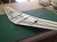 Name: ME 3 001.jpg Views: 245 Size: 86.0 KB Description: Servos for ailerons installed in wing