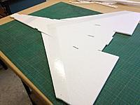Name: V-Dart 005.jpg Views: 102 Size: 76.7 KB Description: Tape on outside where bending