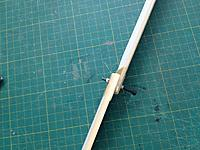 Name: 037.jpg Views: 25 Size: 94.3 KB Description: After weighing the blades, I took the heaviest and bolted it to one of the others