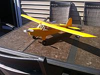 Name: photo.jpg Views: 103 Size: 176.3 KB Description: Just before the maiden flight...no wing struts or finishing trim, etc.