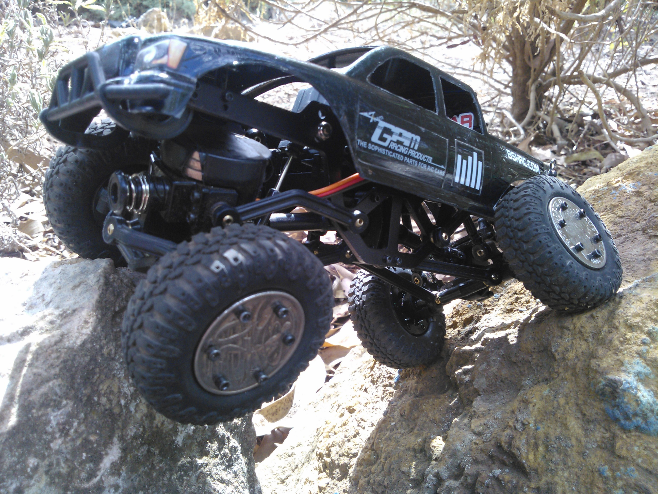 My LOSI Trail Trekker 1 24 Rock Crawler