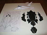 Name: IMG_0283.jpg Views: 197 Size: 126.6 KB Description: Third prototype in progress. Notice the V-tail on my second prototype.
