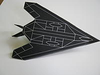 Name: IMG_0287.jpg Views: 176 Size: 122.6 KB Description: Third prototype finished, built out of black card, with silver lines.
