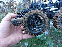 Name: DSCN5341.JPG Views: 309 Size: 1.15 MB Description: The rear wheels hit the bumper before reaching their full travel.