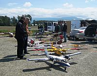 Name: IMG_1960.JPG Views: 41 Size: 2.88 MB Description: An Ivan's Twin Otter 600, Hal's Buffalo and the Ivan KZ-4