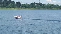 Name: 20180613_102909.jpg Views: 15 Size: 1.40 MB Description: Quite a long take-off run, urged on by Sue...