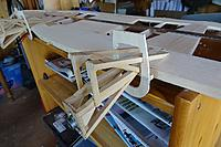 Name: 025.JPG Views: 16 Size: 403.6 KB Description: The support legs are from 1/4 x 1/8 hardwood (bass in this case) and the main bearers from 1/4 square.