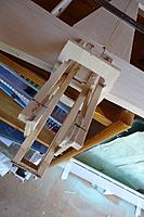 Name: 026.JPG Views: 23 Size: 382.7 KB Description: A rather odd perspective taken from above (actually, from below if you see what I mean) but it shows how the three parts of the structure each side fit together to give the maximum glueing area. The ply plate will lock it all together.