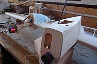 Name: 046.JPG Views: 28 Size: 432.7 KB Description: But the lower ones were very ugly and I've given in and made them from hollowed foam. Took about 30 minutes per nacelle. The balsa ones took 30 minutes per half!