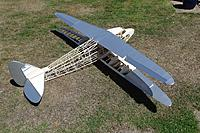 Name: DSC01510.JPG Views: 17 Size: 799.2 KB Description: The tailplane and fin are waiting for some small split pins. There is a bit of rigging to do between these parts and the fuselage and it seems a shame not to include it.