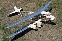 Name: DSC01511.JPG Views: 15 Size: 824.9 KB Description: The interplane struts are made and covered. There is no wing rigging, so they will just slot and clip in place