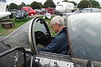 Name: DSC01933.JPG Views: 17 Size: 1.84 MB Description: Trevor trying on the Hunter cockpit for size