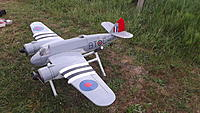 """Name: DSCF6120.JPG Views: 45 Size: 634.1 KB Description: 161. Only two of Ivan's Beaufighters have been built, this is his own. """"Pugnacious"""" is usually how the plane is described and it is difficult to argue. Built in 1999, owned now (I think) by Al Gross."""