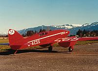 Name: CometatLeary(L).JPG Views: 12 Size: 63.0 KB Description: 164. Ivan's own DH88 Comet. The tailwheel and the 72mHz aerial at the fin give it away.