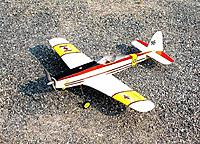 """Name: DSCN1086.JPG Views: 26 Size: 769.3 KB Description: 165. Ivan's """"Mini Mustang"""". Another small-field model built when he and his friends were trying to grade a small strip at the Pond after they lost Ron's field."""