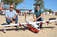 Name: 172. Emile Mars 2.jpg Views: 94 Size: 232.7 KB Description: 172. Emile Marchand (on the left) built this Martin Mars over the last three years and Steve Bondar maidened it at the Shuswap Lake Fall Classic in 2019. Details of the build at post #61.